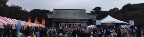 小金井市民祭りでリトミック道具を探す