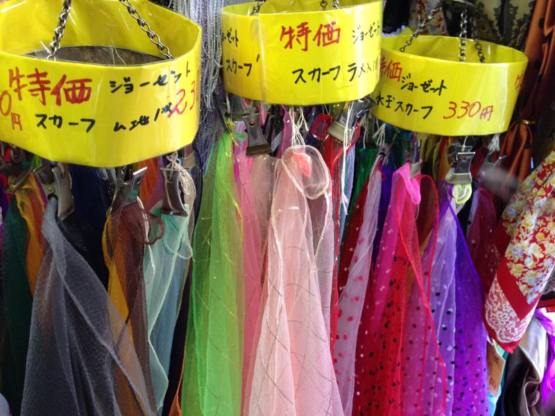 リトミックでよく使われる「スカーフ」はここで買える!!