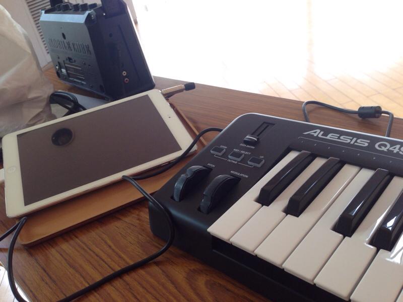 なるべく軽量に鍵盤キーボードの環境を用意する方法
