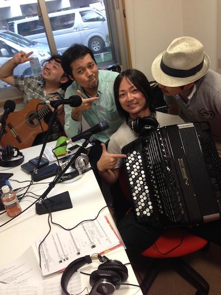 明日ラジオ出演 Radio 「Django Rhythm」かつしかFM 78.9MHz